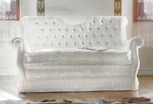 Melody, Classic sofa with tufted backrest
