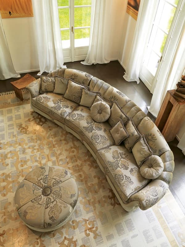 Natalia modular, Classic style sofas Sitting room