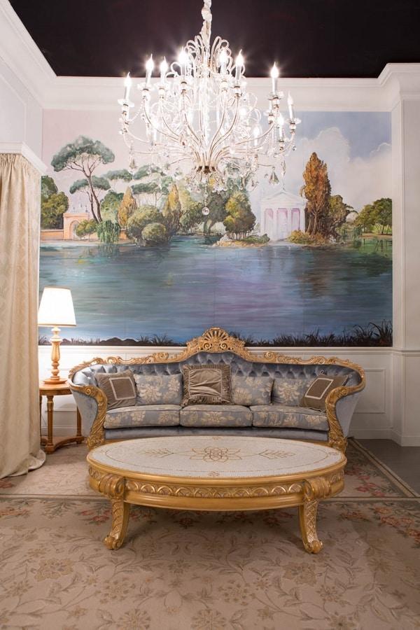 Nobile sofa, Handcrafted sofa