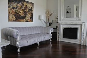 Oceano, New baroque sofa with tufted padding