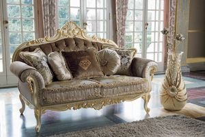 Opera sofa, Sofas with carved structure