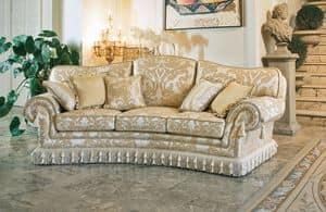 Paloma ring, Semicircular sofa, classic luxury style