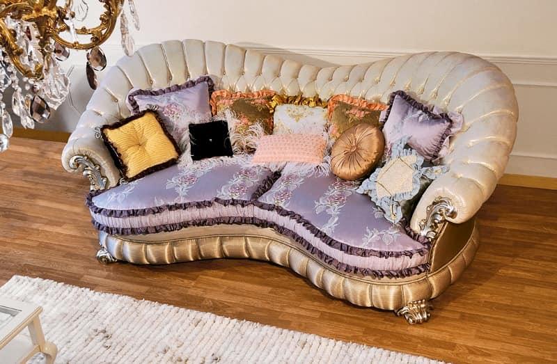 Raffaello-remix, Classical luxury sofa with sinuous lines