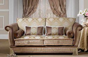 RIALTO, 2-seater sofa, classic style