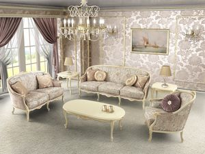 Rose, Sofas with classic lines