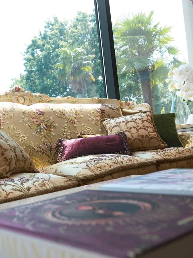 Serena sofa, Classic sofa, crafted artisanally