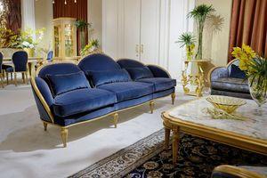 Sofa 4970 Louis XVI style, Louis XVI classic style sofa