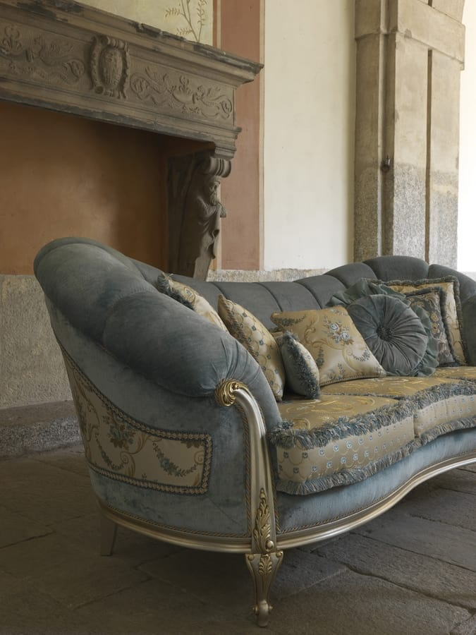 Luxury Classic Sofa, Hand-carved, For Office