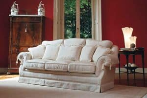 Victoria, Classic luxury sofa, for fine sitting rooms