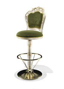 1704/B, Classic style swivel stool