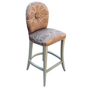 Beaune LU.0976, Art Deco padded stool