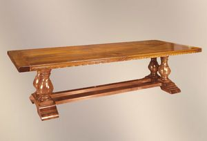 192, Table with precious materials, with rose wood inlay