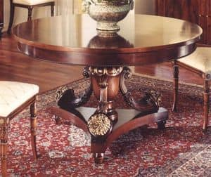 3000 TAVOLO, Round table for classic dining room