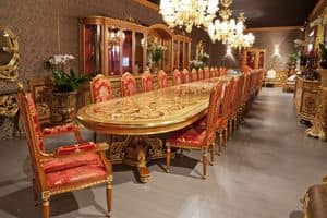 504/B, Very big table for restaurants and hotels, classic style