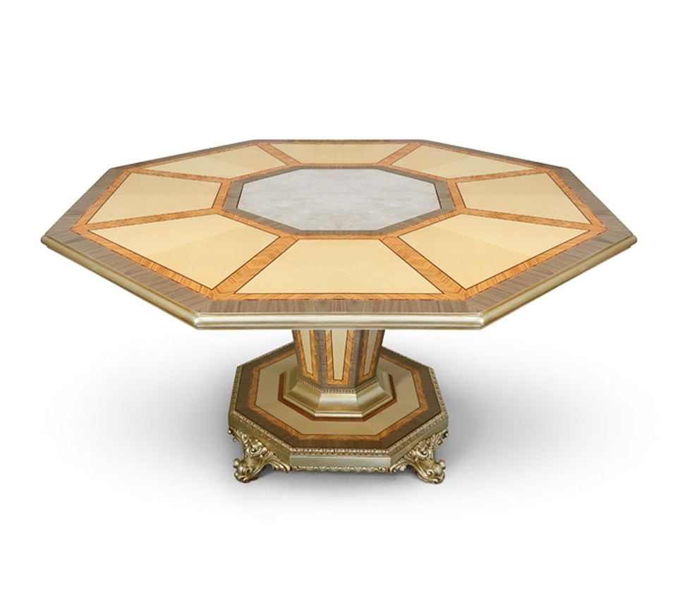 AGNES / table, Luxurious table with octagonal top