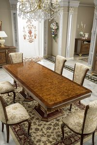 Aida table, Elegant table with briar top