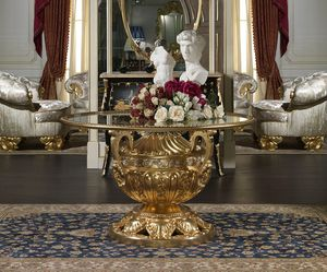 Art. 9090/R Luigi XVI - Versailles, Prestigious carved table