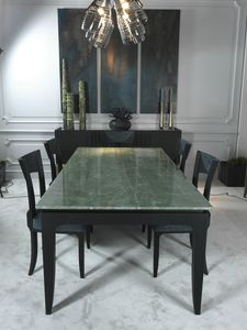AURIGA Table DELFI Collection, Dining table with quartz top