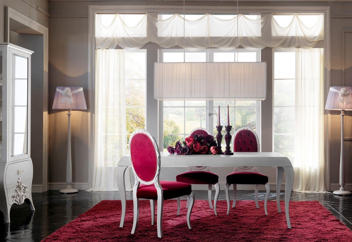Dining Room In Classic Contemporary Style Idfdesign