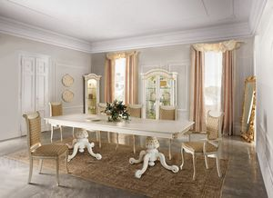 Diamante Art. 2621, Majestic wooden dining table