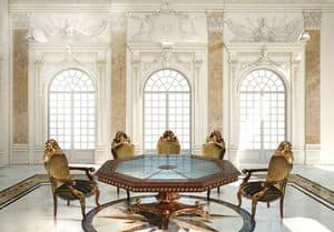 Hermitage ML/051/OT, Classic octagonal dining table