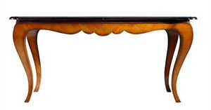 Reni RA.0671, Extendable cherry Chippendale table