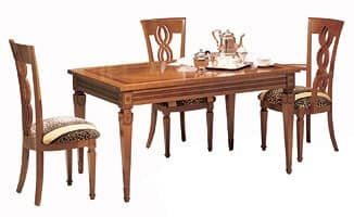 TA29 Piccolo grande table, Table with extensions, living area, for Luxury Hotel