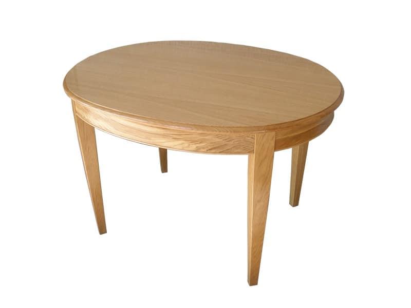 William, Classic table, handmade, oak veneered