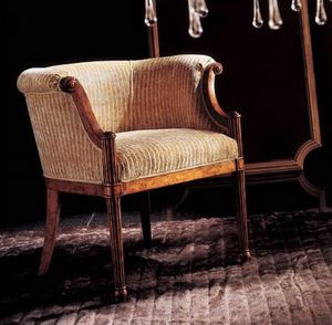 228P, Traditional design armchair