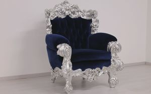Ambassador, Luxury armchair, in Contemporary Baroque style