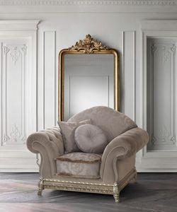Anastasia, Armchair with precious carved base