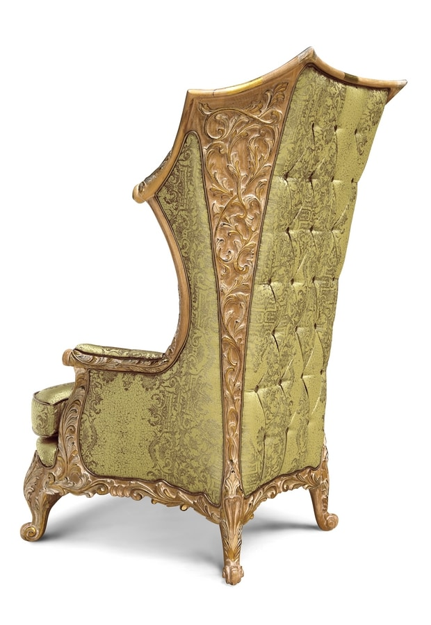 Armchair 5168, Classic luxury bergere armchair