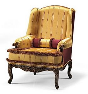 1744/A, Berg�re armchair for hotels