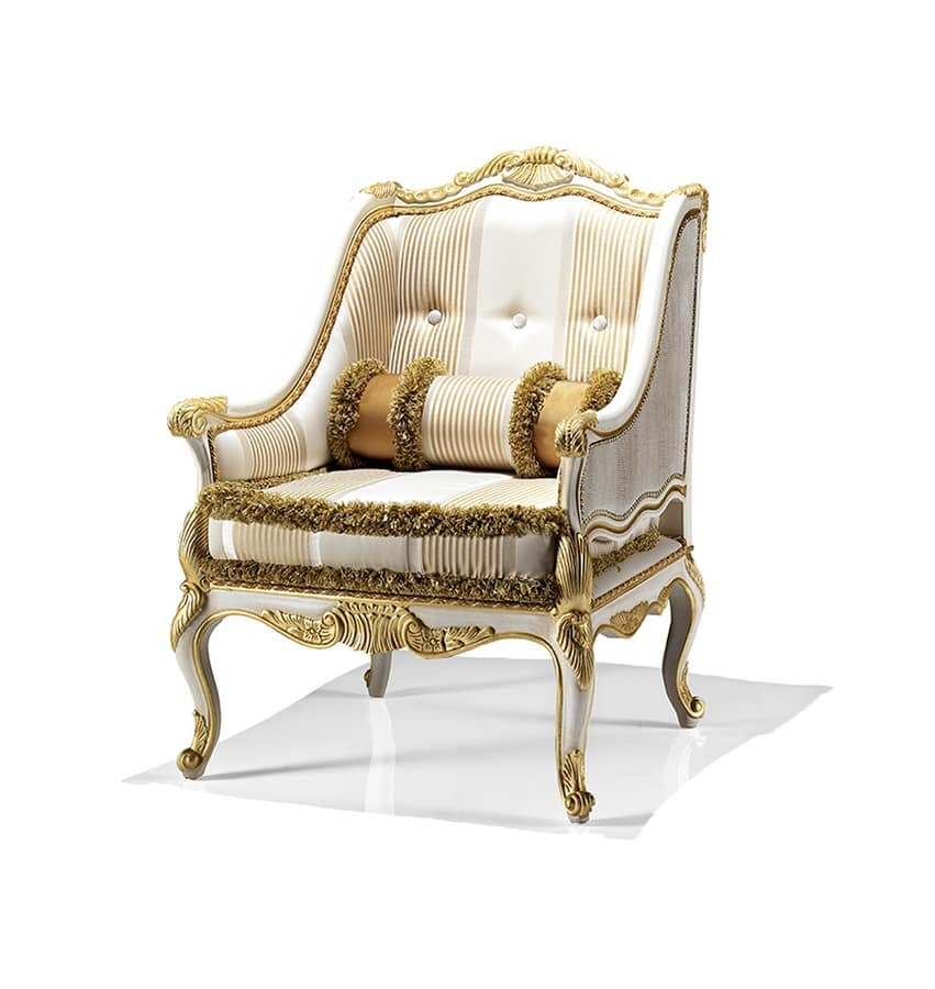 Luxurious and enveloping armchairs for hotel suites ...
