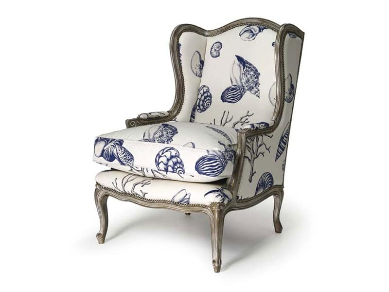 Armchair in beech wood, Louis XV Style | IDFdesign