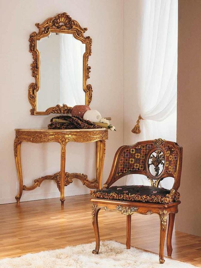 Aureola armchair, Louis XVI style armchair