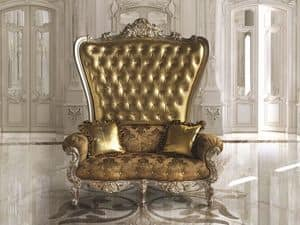 B/120/4 The Throne, Large classic armchair for luxurious lobby and restaurants