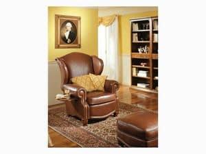 Bergerac, Enveloping luxury armchairs, for naval furnishing
