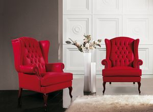 Big Ben, Classic armchair with capitonn� high backrest
