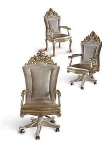 Bijoux B/2011/S, Swivel armchair suited for classics offices