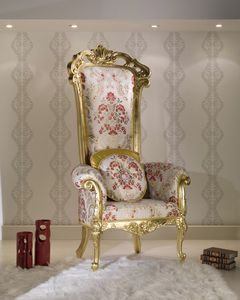 BS320A - Throne, Classic luxury style throne