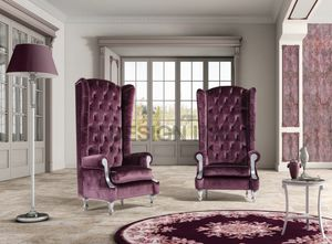 Dorian, Classic armchair with high back
