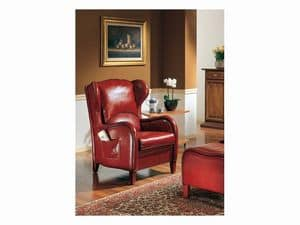 Dundee, Armchair in classic style for hotel hall