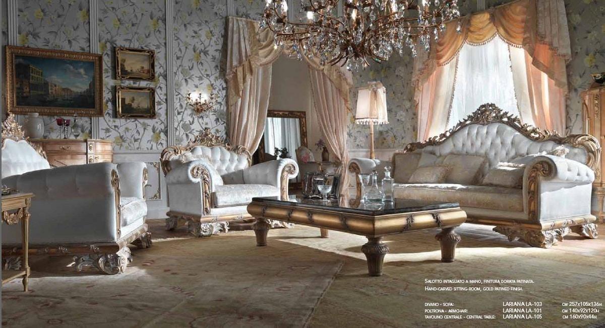 Lariana armchair, Luxurious armchair, hand carved
