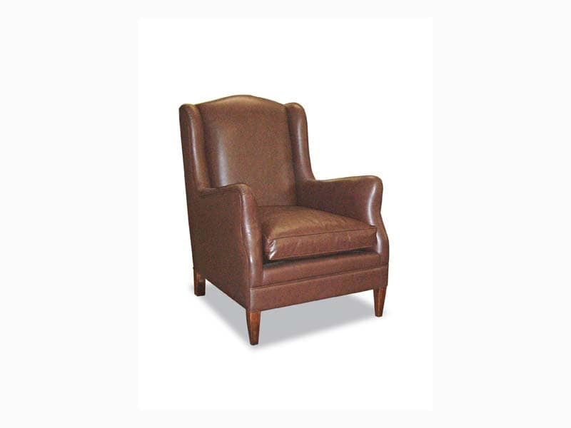 Miriam, Rich armchairs with classic lines, for waiting area