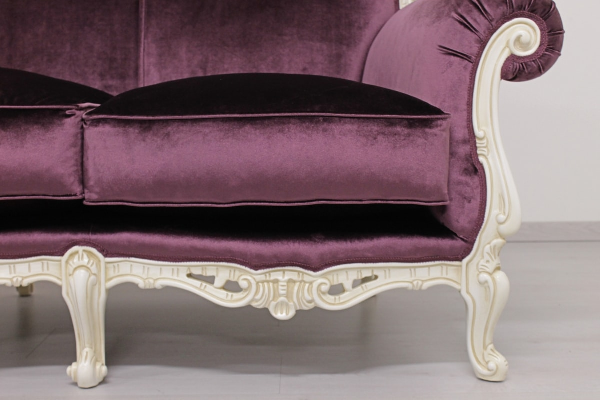 Symphony fabric, Luxury rococo style armchair