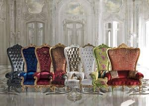 The Throne, Throne in classic luxury style