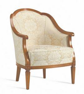 Villa Borghese armchair 1374, Directoire style armchair