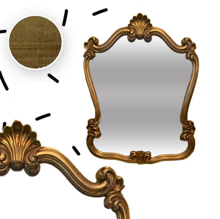 2010 MIRROR, Classic carved mirror
