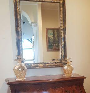 Art. 177, Outlet mirror, in gold leaf